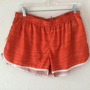 PONY Orange Lined Running Shorts